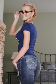 Latina Teen With Pigtails Jessie Rogers