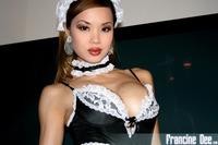 Francine Dee Busty Asian Maid
