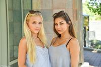 Alex And Nina Public Lesbian Babes