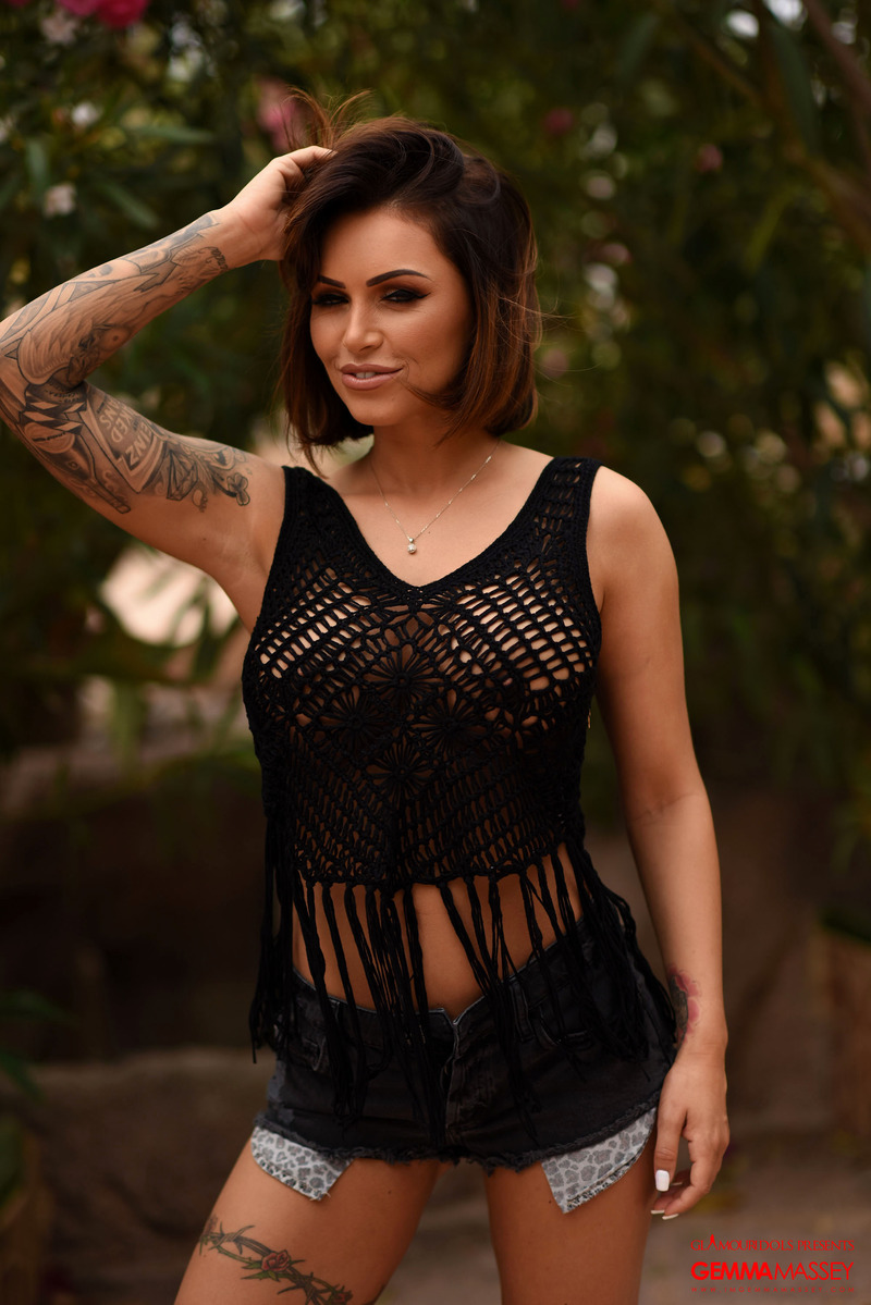 Hot Busty Gemma Massey 08