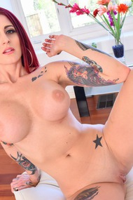 Tana Lea Big Boobed Redhead Mommy Blows