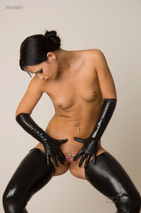 Kinky Amateur Babe Nea In Sexy Latex