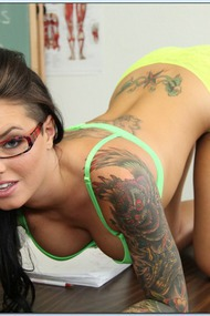 Christy Mack Stripping In The Class
