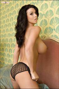 Busty Brunette Model Alice Goodwin