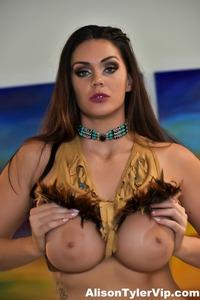 Busty Pocahontas Aka Alison Tyler