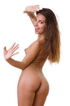 Lorena Posing Naked