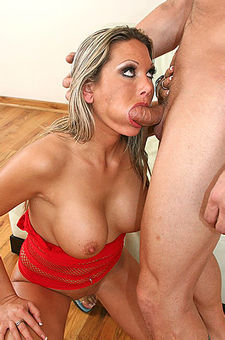 Busty Blond Milf Gets Fucked