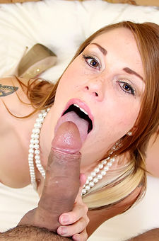 Scarlett Wild Splattered With Jizz