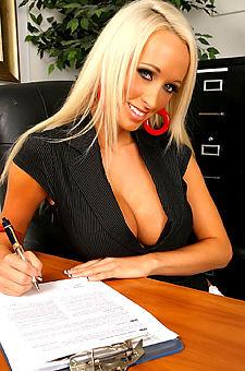 Hot Ass Boss In Her Office