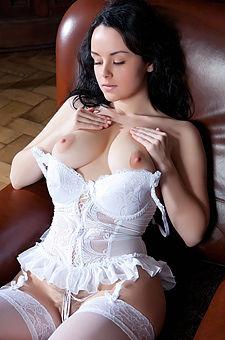 Mirelle In White