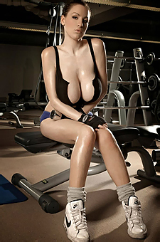 Busty Jordan Carver Working