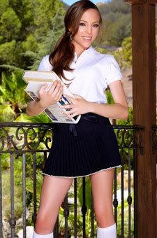 Aubrey Star Schoolgirl