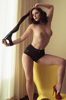 Alluring Vintage Striptease