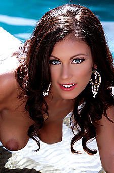 Whitney Westgate Stripping At The Pool