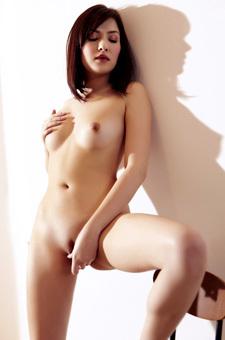 Cassie Laine Nude On A Chair
