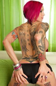 Tattooed Anna Bell