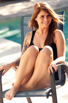 Adorable Tattooed Hailey Leigh