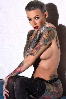 Becky Holt Kinky Tattooed Girl