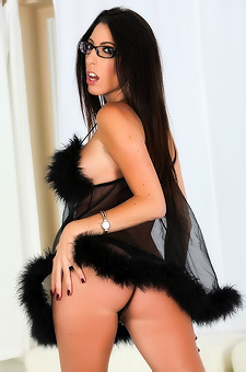 Dava Foxx In Sexy See-Thru Babydoll