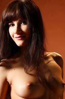 Naked Brunette Girl Lauren Crist