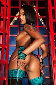 Sexy Ebony Pornstar Skin Diamond