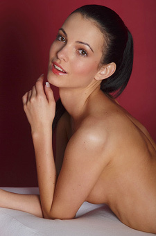 Gorgeous Teen Model Sapphira Poses Naked
