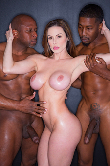 Busty Milf Kendra Lust Enjoys Interracial Threeway