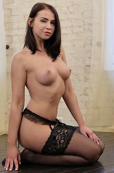 Sophia Wearing Sexy Lingerie
