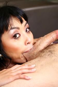 Asian Young Slut Blows Hard