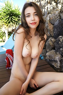 Busty beauty Mila Azul looks a stunning mix of sporty and sexy