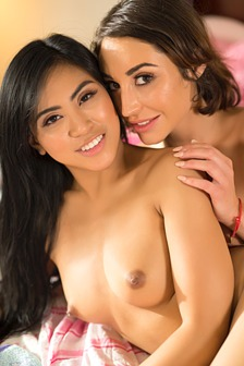 Sorority Sisters Practice Anal Sex With Ember Snow