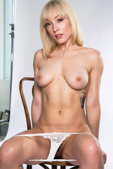 Lily Labeau In White