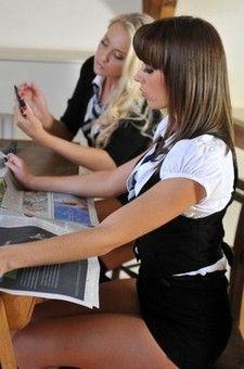 Hot Schoolgirls In Uniform