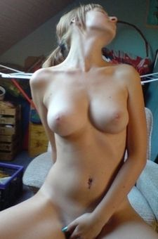Amateur GFS With Perky Tits